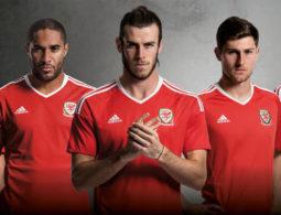 Les nouveaux maillots du Pays de Galles pour l'Euro 2016