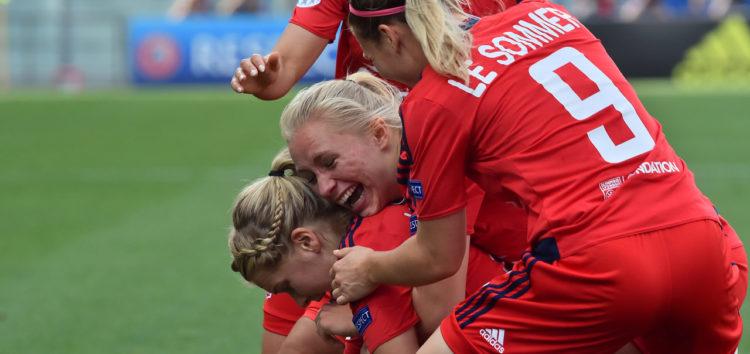 L'équipe féminine lyonnaise a remporté la ligue des champions
