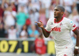 Anthony Modeste, meilleur buteur de Bundesliga