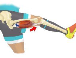La déchirure musculaire en football