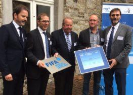 Un centre médical d'excellence de la FIFA à Liège