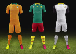 Les nouveaux kits Puma pour la Côte d'Ivoire, le Cameroun et le Ghana